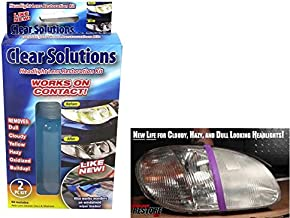 Clear Solutions Headlight Lens Restoration Kit