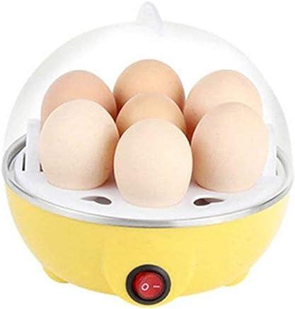 Kriva Plastic 7 Layer Egg Boiler And Steamer Omlette Frying Pan For Home, Multi Color