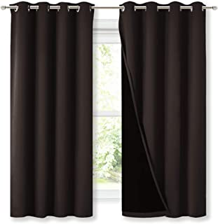 NICETOWN Complete 100% Blackout Curtains, Thermal...
