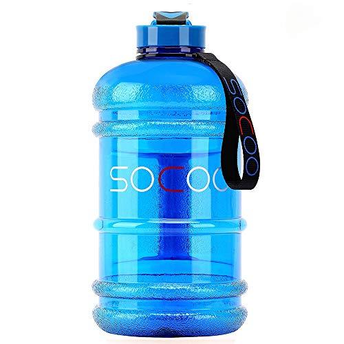 Alta qualità: realizzato in materiale plastico ecologico per alimenti, 100% senza BPA, non tossico e inodore. La bottiglia è adesiva rispetto ad altri prodotti simili ma è leggera, quindi non si danneggia facilmente dopo la caduta. (Suggerimenti: que...