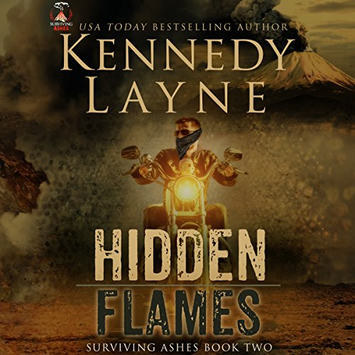 Hidden Flames audiobook cover art