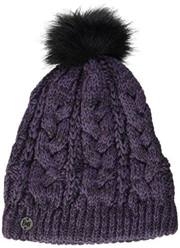 Buff Femme Knitted et Polar A Darla Bonnet, Purple, One Size