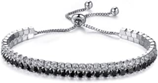 Jewelry Woman's Tennis Bracelet with Luxury Micro Zircon...