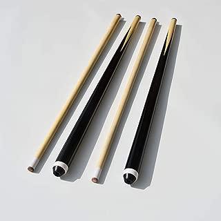 TGA Sports 58 Inch 19oz 2-Piece Hardwood Billiard House Cue Sticks Pool Cue,