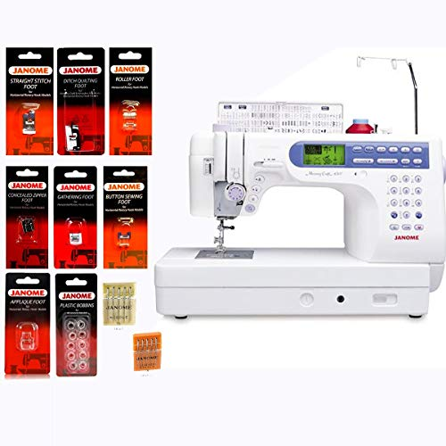 Best Deals! Janome Memory Craft 6500P / MC6500P Computerized Sewing Machine with Package (Renewed)