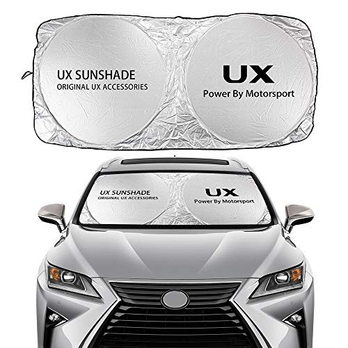 Parasol Coche Windshield Sun Sunde cubierta compatible con Lexus Es RX NX...