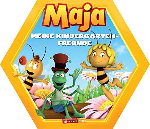 Biene Maja Kindergartenfreundebuch in Wabenform: Meine Kindergartenfreunde