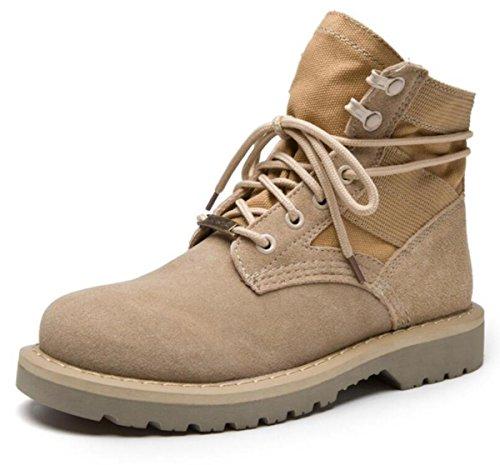 New Martin Stiefel Herren / Damen Leder Retro Paar Schuhe Größe 36-43 , 37