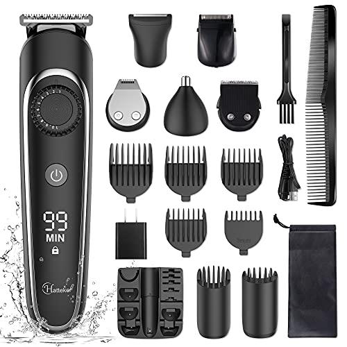 Hatteker Beard Trimmer Hair Clipper Hair Trimmer...