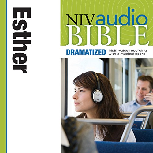 Dramatized Audio Bible - New International Version, NIV: (16) Esther audiobook cover art