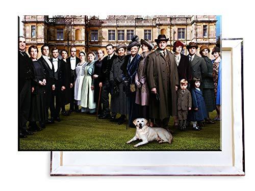 Unified Distribution Downton Abbey - 60x40 cm Kunstdruck auf Leinwand • erstklassige Druckqualität • Dekoration • Wandbild