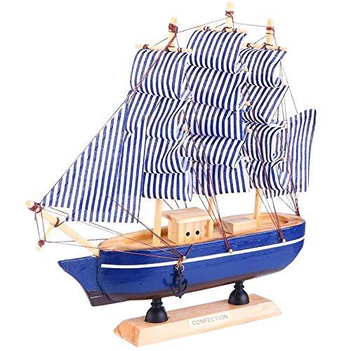M & A Juego de maquetas de barcos para adultos, construcción de madera, duradero, práctico y elegante, decoración del hogar, puzzle, maqueta de barcos para construir