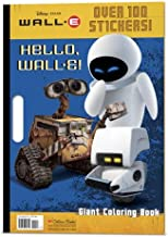Hello, WALL-E! (Disney/Pixar WALL-E) (Giant Coloring Book)