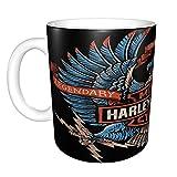 Harley Davidson divertida taza de café regalo para compañeros de trabajo, amigos, jefe, Navidad, Acción de Gracias, para hombres y mujeres, 11 oz