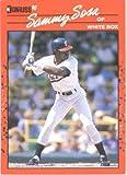 1990 Donruss Baseball Card #489 Sammy Sosa