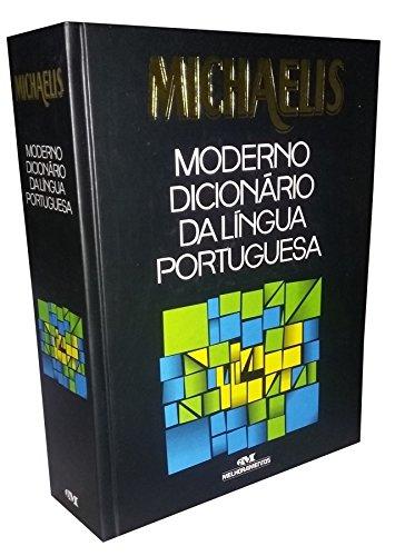Livro Michaelis Moderno Dicionário da Lingua Portuguesa de Mesa Grande