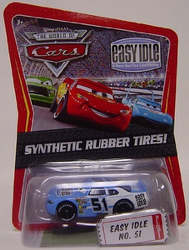 Disney / Pixar CARS Movie Exclusive 1:55 Die Cast Car with Sythentic Rubber Tires Easy Idle