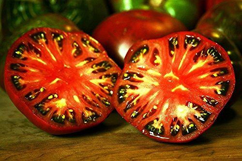 RWS 100 graines Cherokee Violet tomate, très ancienne variété de Cherokee Indien, Nouvelle livraison d'Amérique, testé germinale