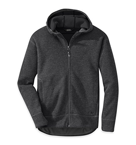Outdoor Research Men's Exit Hoody, Charcoal, Large