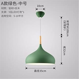 UnitCount : Five Heads 185 Chandelier KDJHP Led Solid Wood Chandelier Modern Minimalist Dining Room Lamp Creative Personality Wooden Living Room Bedroom Bar Cafe