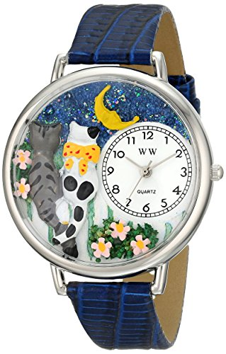 Whimsical Watches Unisex U0120009 Cats Night Out Royal Blue...