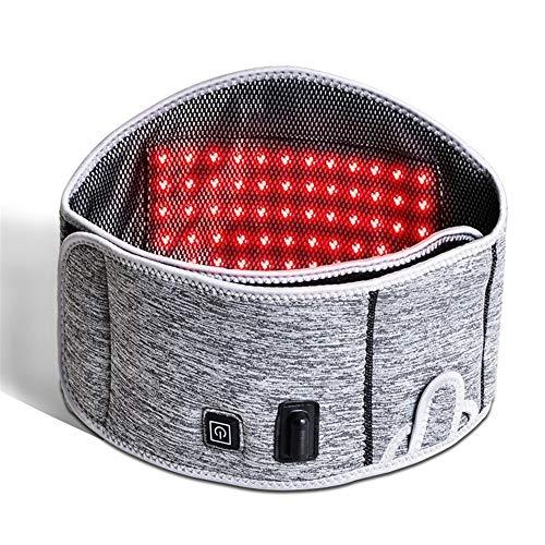 Cinturón calefactor de cintura El alivio del dolor eléctrica Placa Térmica soporte...