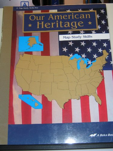 Our American Heritage Map Study Skills Key Third Grade