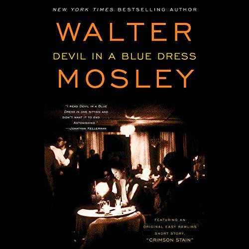 Devil in a Blue Dress audiobook cover art