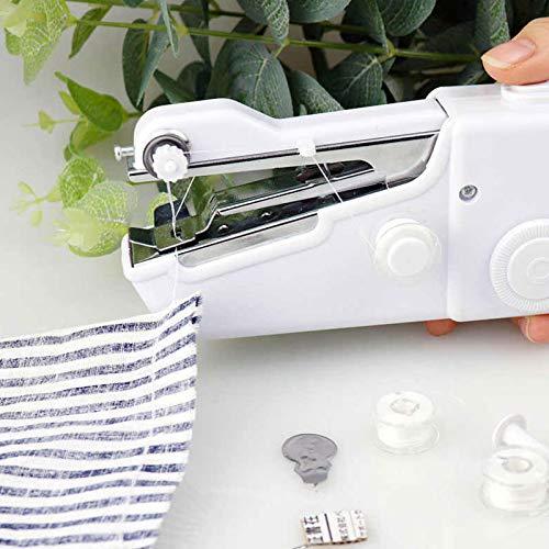 SHOP-STORY - Mini Machine à Coudre Electrique Portative - Retouche Facile et Rapide