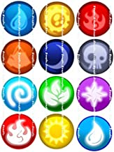 SKYLANDERS ELEMENTS: edible cupcake topper birthday image decor frosting party decoration sheet personalized premium sheets