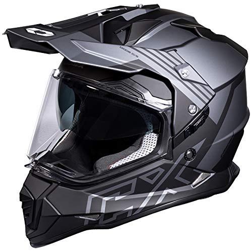 Castle Mode SV Agent Dual Sport Helmet Matte Charcoal MD