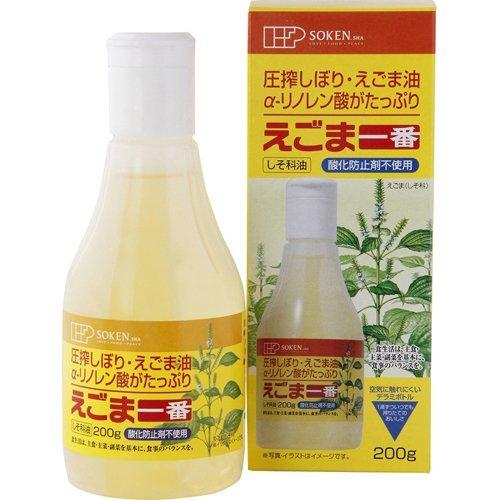 創健社 えごま一番デラミボトル 200g ×6セット