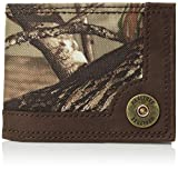 Real Tree Men's RFID Blocking Extra Capacity Slimfold Wallet, brown/camo, One Size