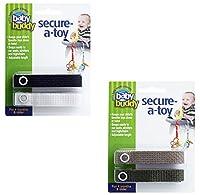 Baby Buddy Secure-A-Toy Sangles de fixation pour jouets Multicolore 6-36mois