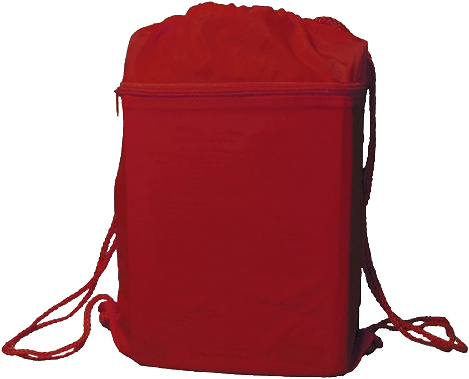 4dbaf68a0491 Drawstring Backpack Bag Solid Bright Red nqikia7098-Sporting goods ...