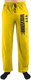 MARVEL X-Men Wolverine Sleep Pants-XX-Large Yellow