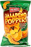 Herr's Jalapeno Poppers (Over Baked with Real Cheese Flavored Cheese Curls) (1 Oz. - 7 Pack!!!!!)