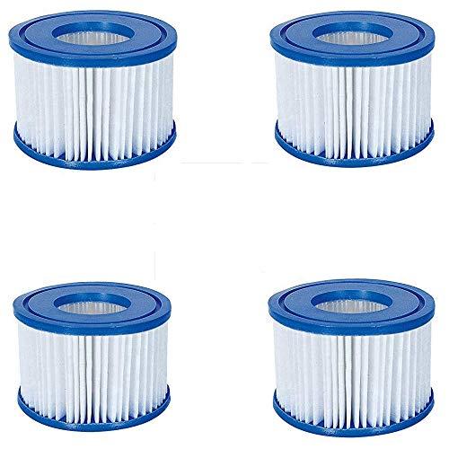 HHDL - Cartucho de filtro VI para Lay-Z-Spa Miami, Vegas, Monaco, cartucho de filtro de fácil ajuste