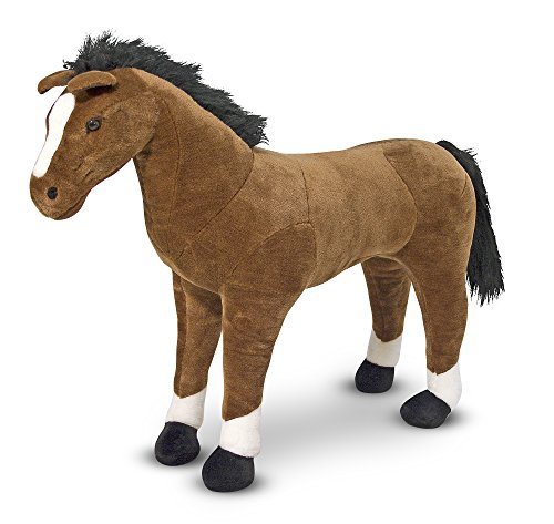 Melissa & Doug Horse - Plush   Soft Toy   Animal   All Ages   Gift for Boy or Girl