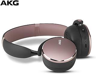 AKG Y500 - Auriculares in-Ear inalámbricos con Bluetooth, Color Rosa