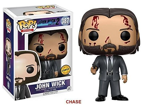 Figura Pop John Wick Chase - 9 cm EDICION LIMITADA