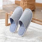 B/H Andar por casa,Zapatos para el hogar Antideslizantes para Interiores, Zapatillas para el hogar de Suela Blanda-K_36-37,Jardín Sandalias
