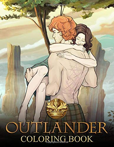 Outlander Coloring Book: Adult Kids Books with Fun, Easy, Relaxing Coloring Pages