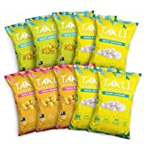 Taali Variety Pack Water Lily Pops (10-Pack) - Three Delicious Flavors | Protein-Rich Roasted Snack | Non GMO Verified - Individual 0.8 oz Bags