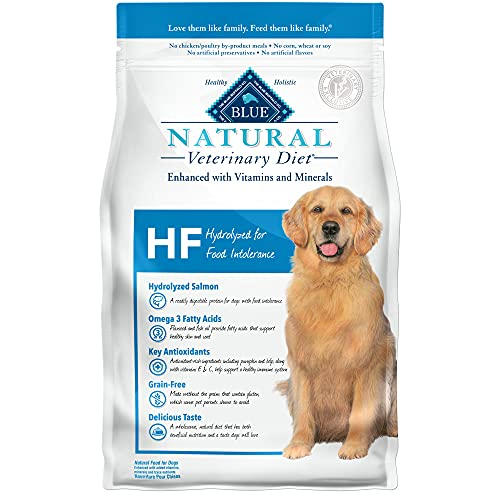 Blue Buffalo Natural Veterinary Diet HF Hydrolyzed for Food Intolerance Dry Dog Food 6 lb