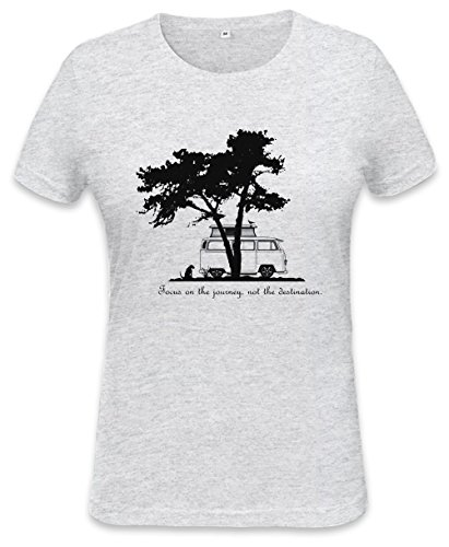 Focus on the Journey Womens T-shirt Small