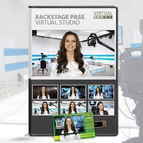 Backstage Animer and All items free shipping price revision Pass HD 4K Virtual Set