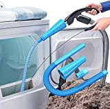 PetOde Dryer Vent Cleaner Kit Vacuum Attachments Remover Lint Cleaner for Dryer Vent Hose Cleaning Tools Reaches Hard to Reach Places