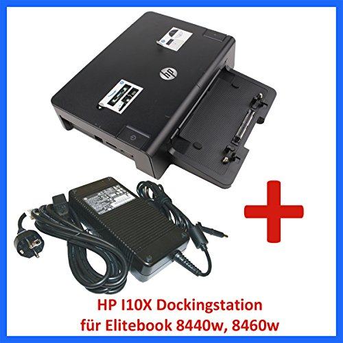 HP Dockingstation HSTNN-I10X + HP Netzteil 230W für Elitebook 8440w 8460w