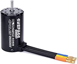 Eurobuy Surpass 3665 Waterproof Brushless Motor for 1//8 1//10 RC Car Accessory Part Ultra-thin Silicon Steel Sheet 2900KV